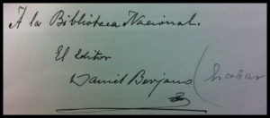 firma de Daniel